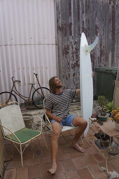 Surfboard winner