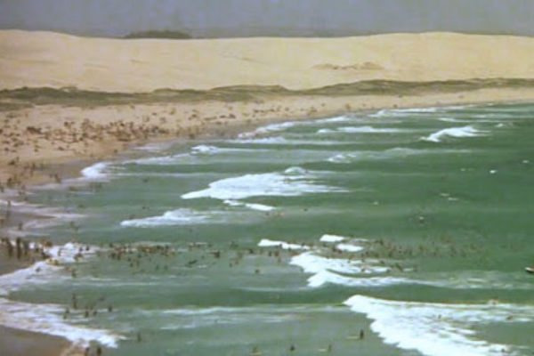 Old photo of North Cronulla Beach