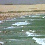 Old photo of North Cronulla Beach